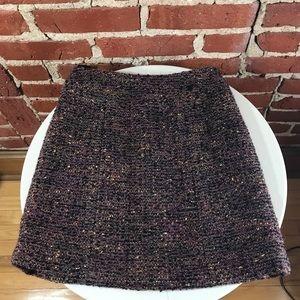 Authentic Chanel wool mini skirt